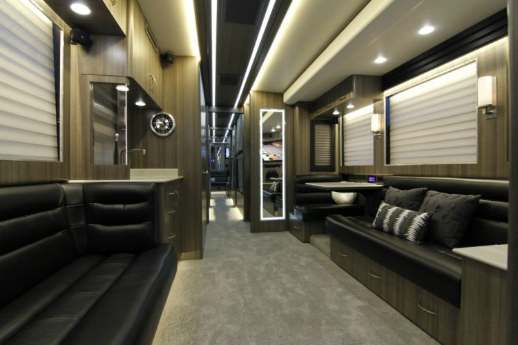 inside celebrity tour buses the modifications stars make to their