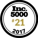 Inc. 5000 Magazine seal for #21 in 2017