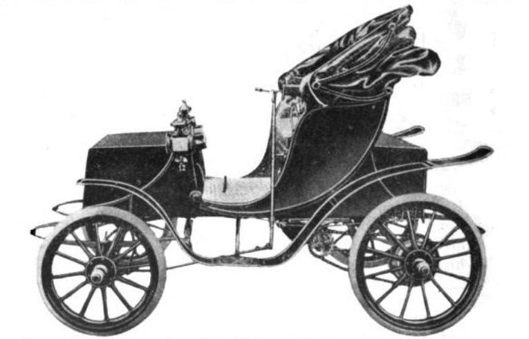 a 1906 electric vehicle