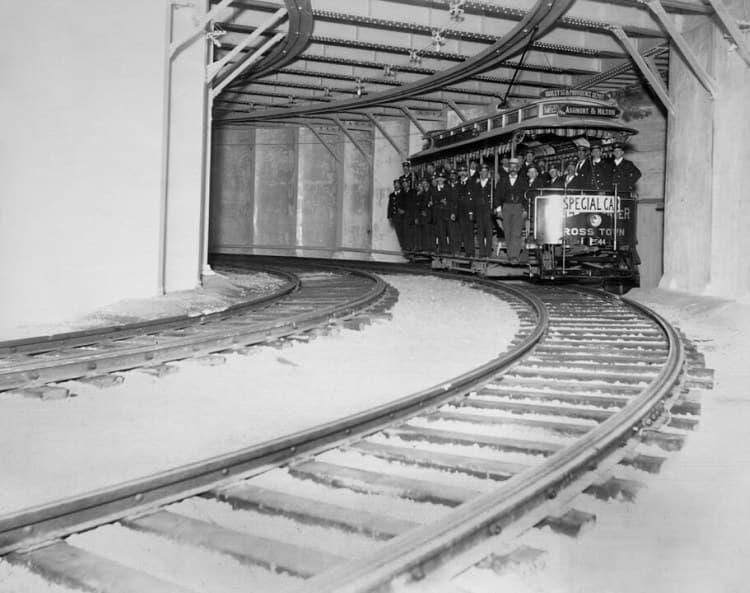 Underground streetcar