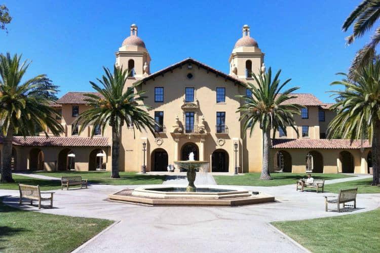 Stanford University building