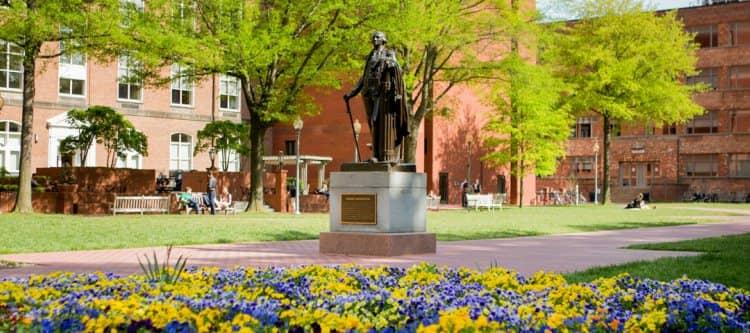 The George Washington University campus