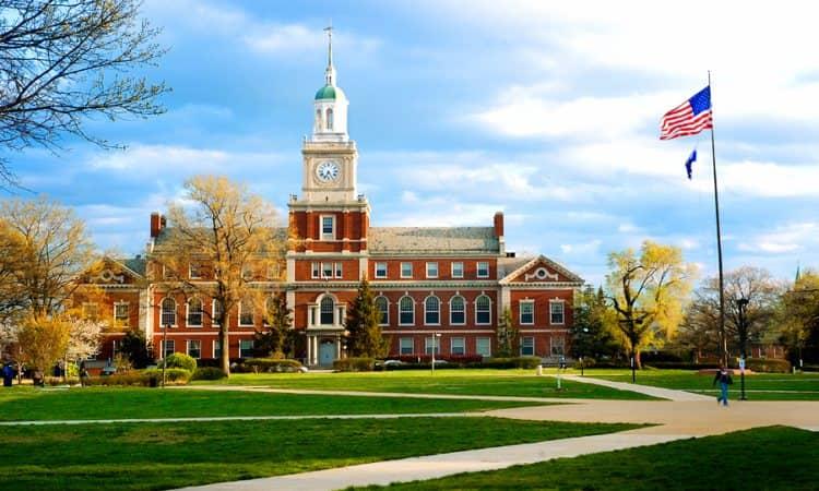 The Howard University campus