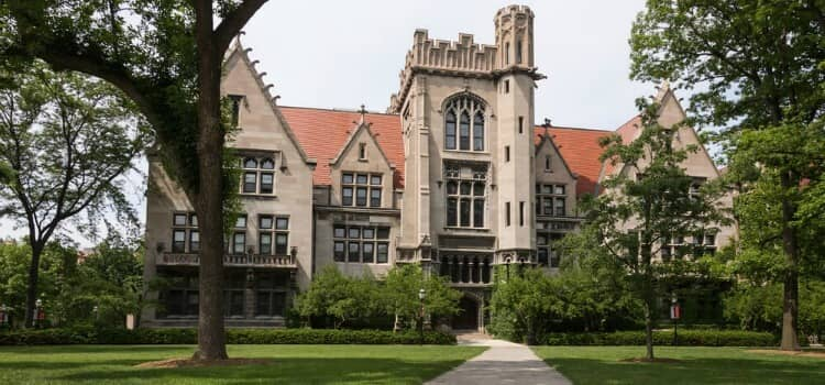The campus of University of Chicago