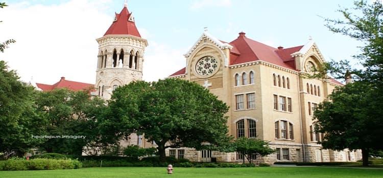 The Saint Edwards University campus