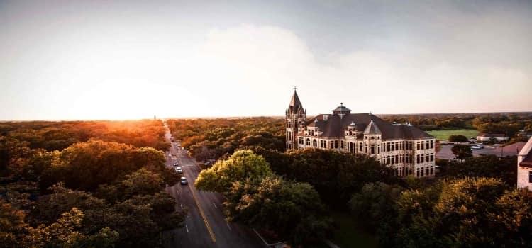 The Southwestern University campus