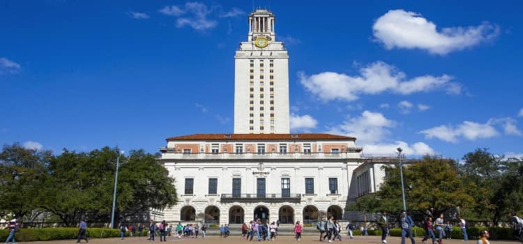 The University of Texas at Austin campus