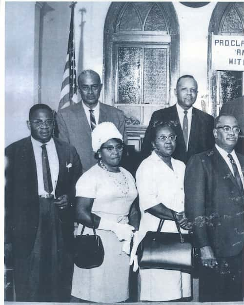 Members of the Baton Rouge boycott, 1953.