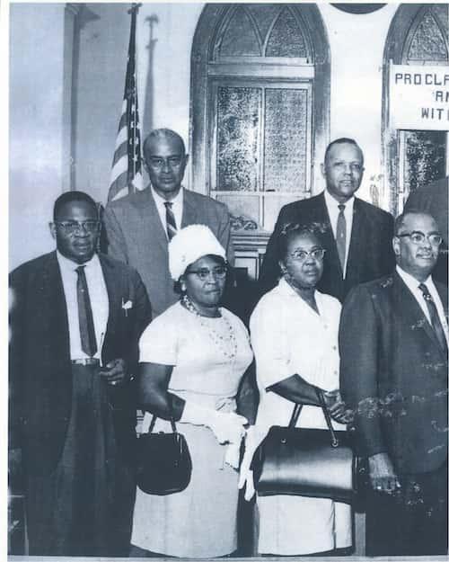 Members of the Baton Rouge boycott, 1953.