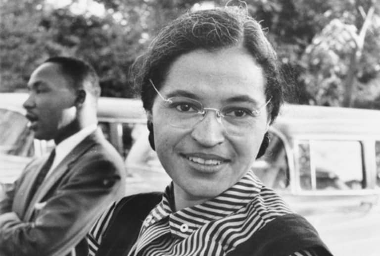 rosa parks and martin luther king