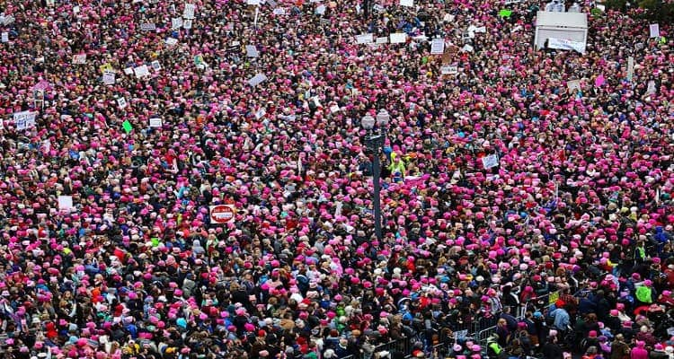 Women's March on Washington, 2017.