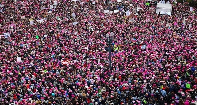 Women's March on Washington, 2017.