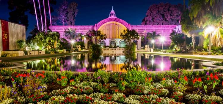 Gardens in Balboa Park
