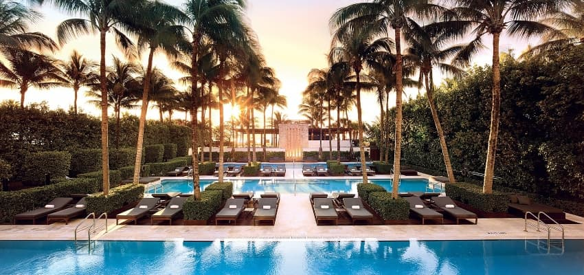 the setai pool miami