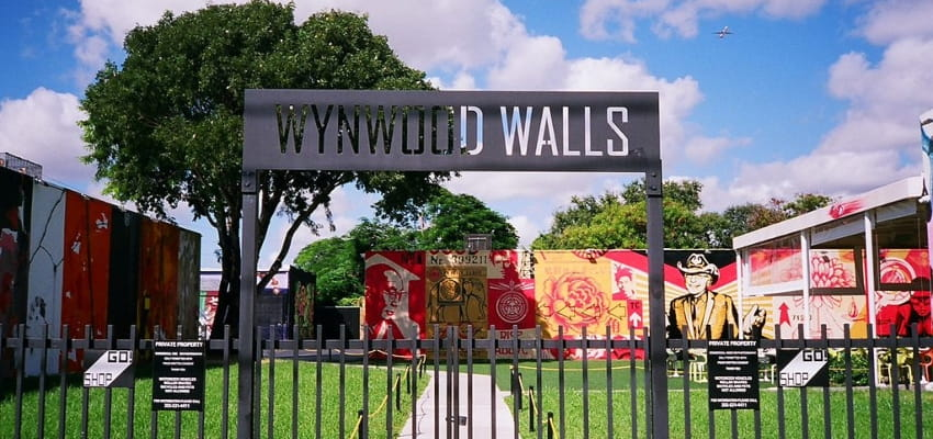 wynwood walls entrance in miami florida