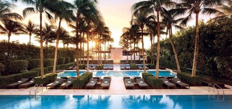 Setai Miami Beach Pools