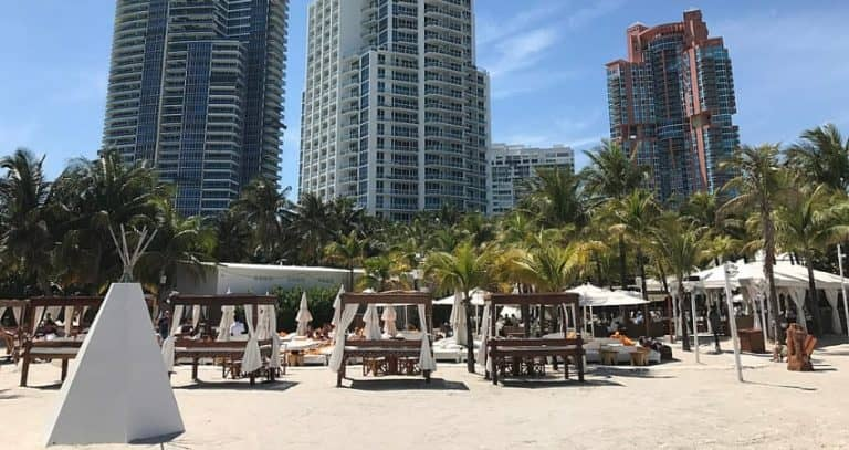 South of Fifth, Nikki Beach, Miami