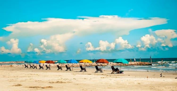 Galveston beach chairs