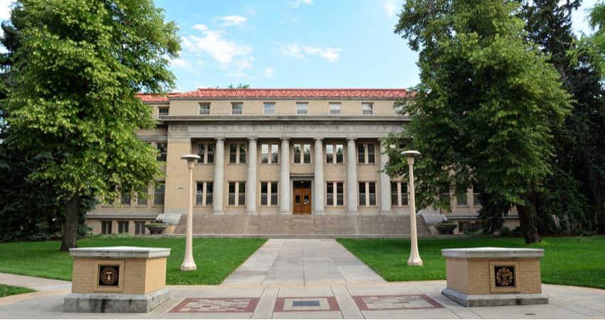 colorado state university administrative building