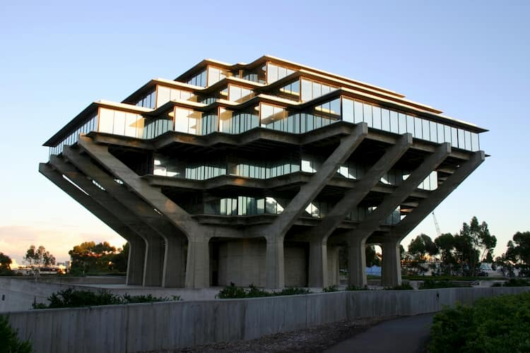 Library at UC San Diego