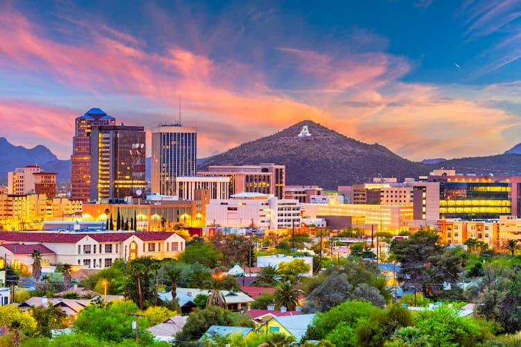 Tucson Arizona cityscape
