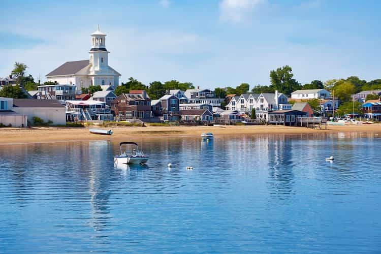 Provincetown coastline
