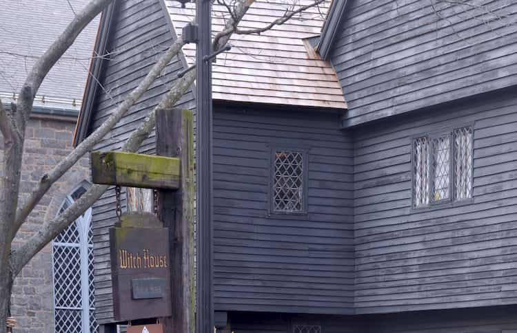 The Witch House in Salem