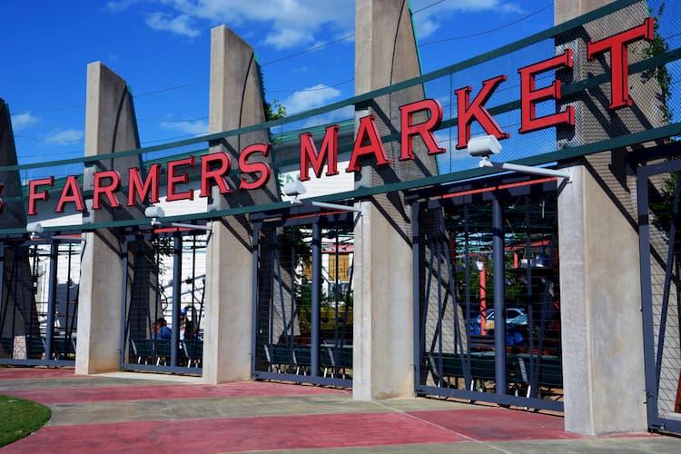 Dallas Farmers Market entrance