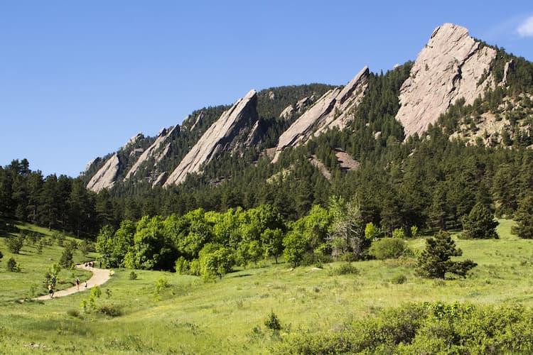 Chataqua Park in Colorado