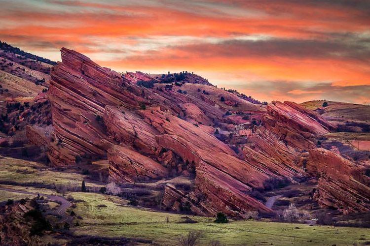 Red Rocks sandstone formations