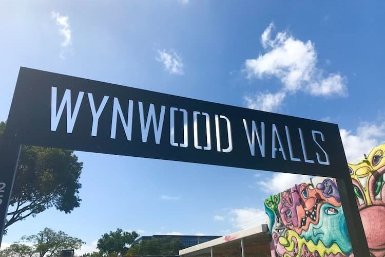 Sign leading into Wynwood Walls