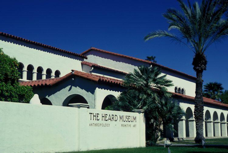 the exterior of the phoenix heard museum