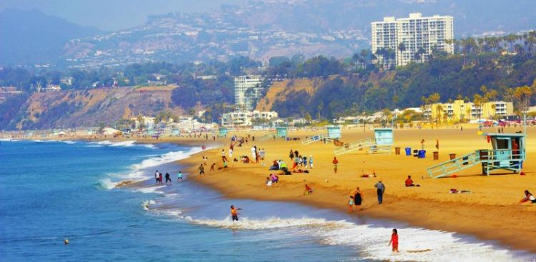 Relax On Santa Monica Beach