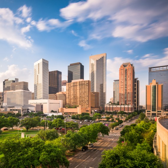 picture of Houston, TX skyline