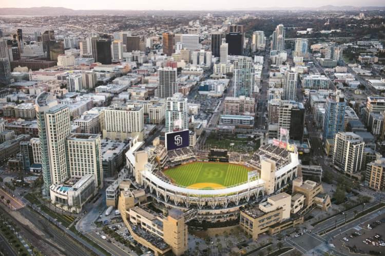 San Diego sports team bus rental