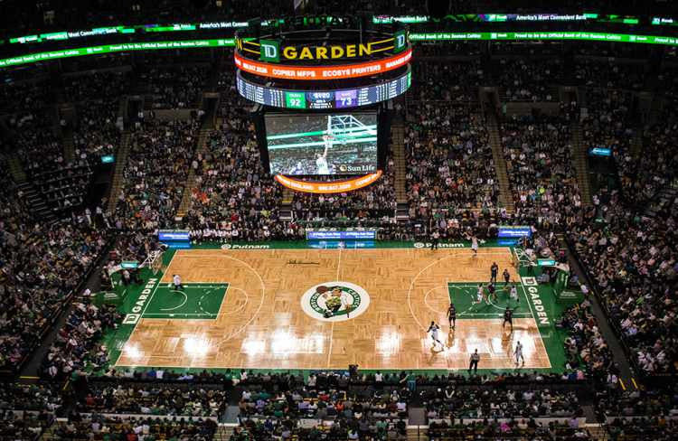 Boston sports team bus rental