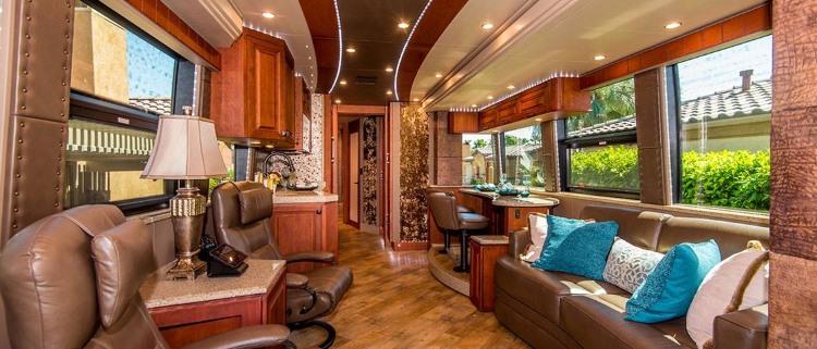 nyc band tour bus rental