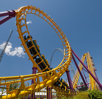 Charter Bus Rentals to Elitch Gardens in Denver | GOGO Charters