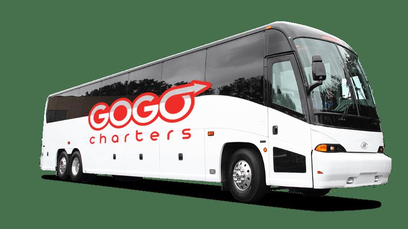 56 Passenger MCI Charter Bus | GOGO Charters