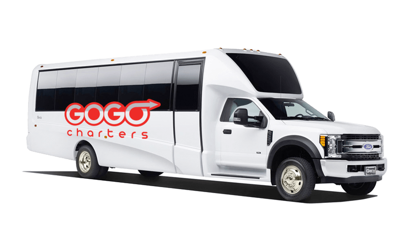 25 Passenger Minibus Rental   GOGO Charters