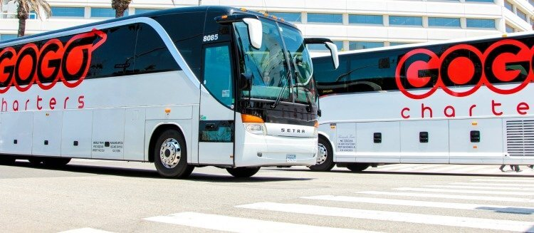 Charter Bus Rental in San Antonio