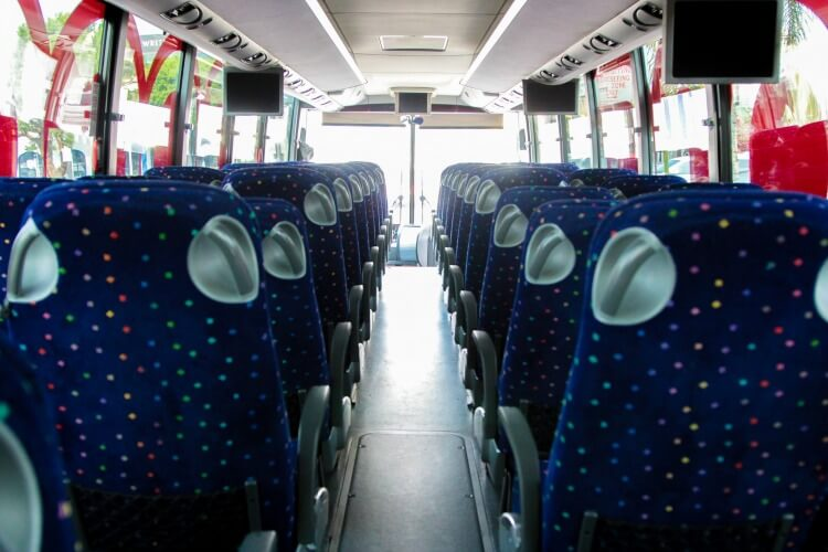 Rent a charter bus or minibus in Atlanta