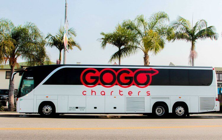 gogo charters charter bus delray beach