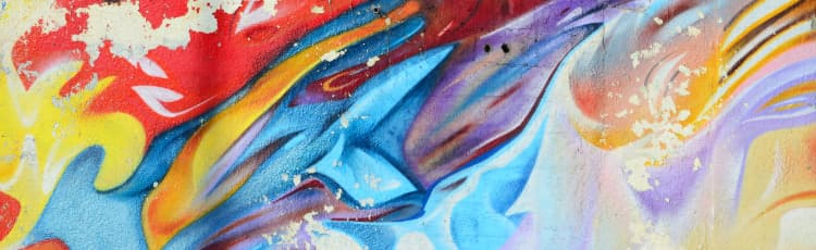 colorful-abstract-painting-on-concrete-wall