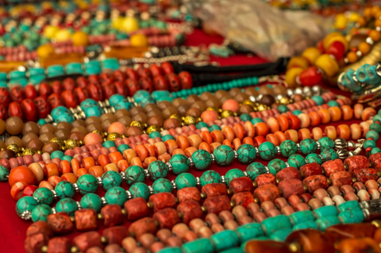 green-and-orange-beaded-craft-jewelry