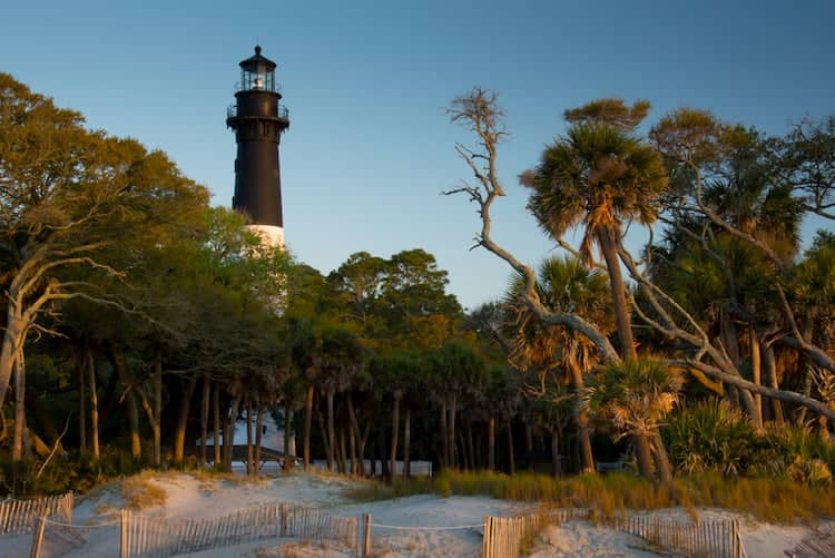 A historical park in Beaufort, South Carolina