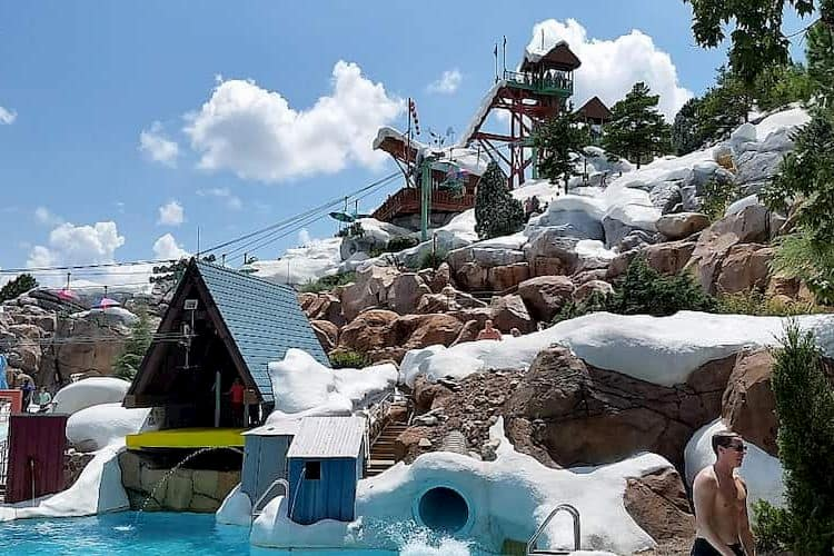 Slides at Blizzard Beach