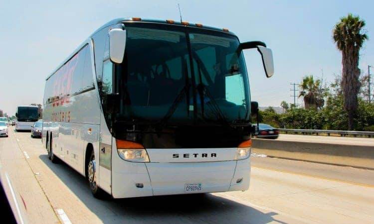 GOGO Charters charter bus