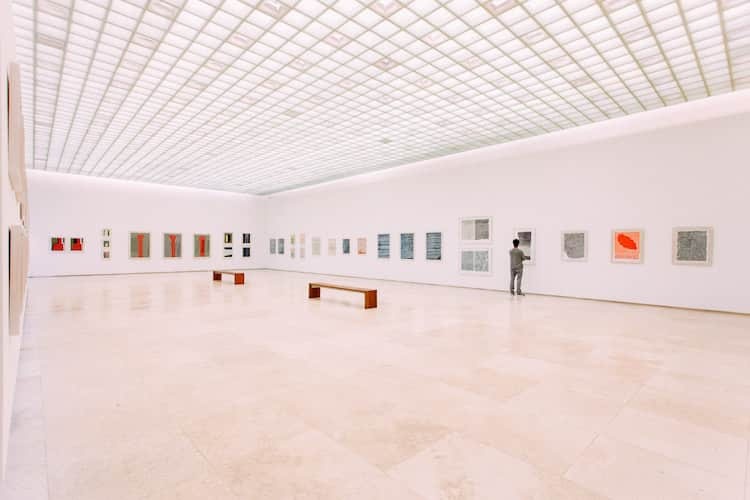 inside of the dallas museum of art