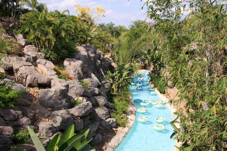 Lazy river at Typhoon Lagoon
